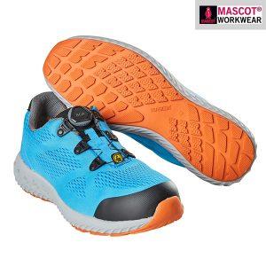 Chaussures de sécurité Boa Mascot - Footwear bleu