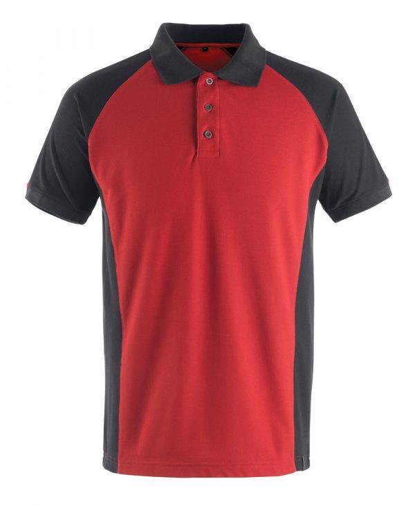Polo Mascot Unique - Rouge et Noir