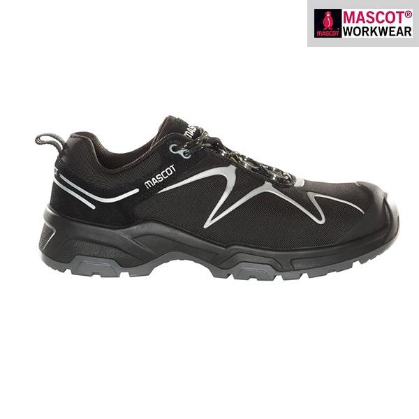 Chaussures de sécurité Mascot – FOOTWEAR FLEX - Noires - Vue de côté