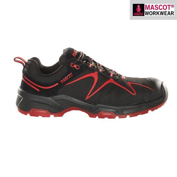 Chaussures de sécurité Mascot – FOOTWEAR FLEX - Rouges - Vue de côté