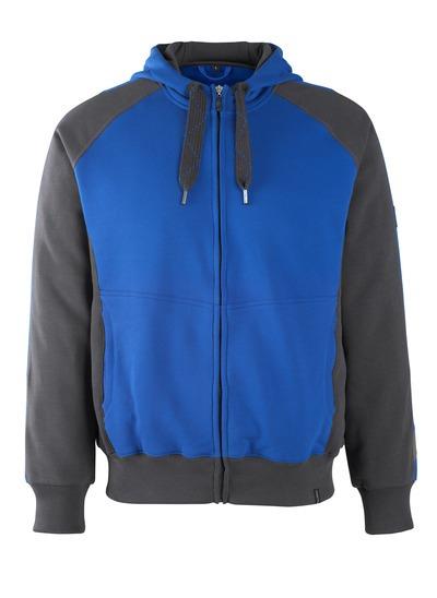 Sweat capuche zippé - MASCOT UNIQUE bleu et bleu marine