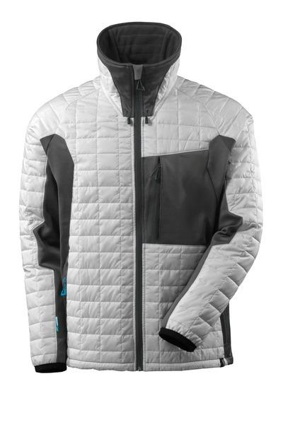 Veste Thermique Mascot Advanced - Blanc et Gris Foncé