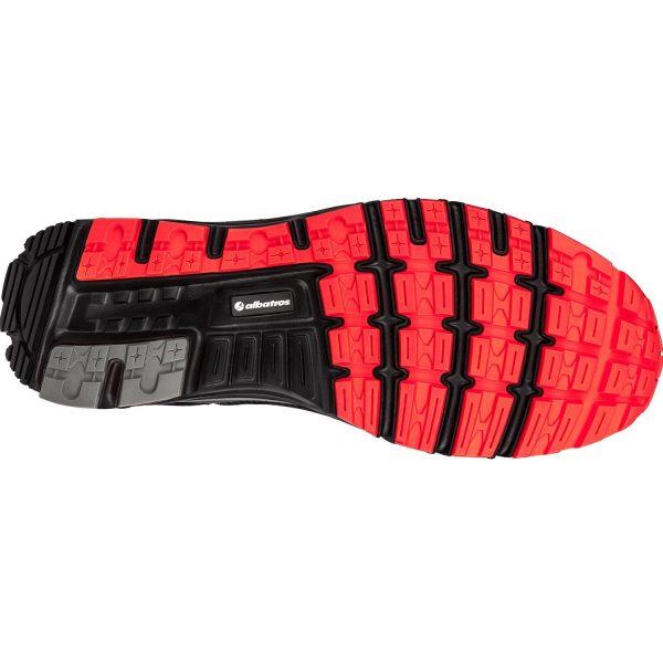 Chaussures de sécurité Albatros - Lift Red Impulse - Vue de dessous