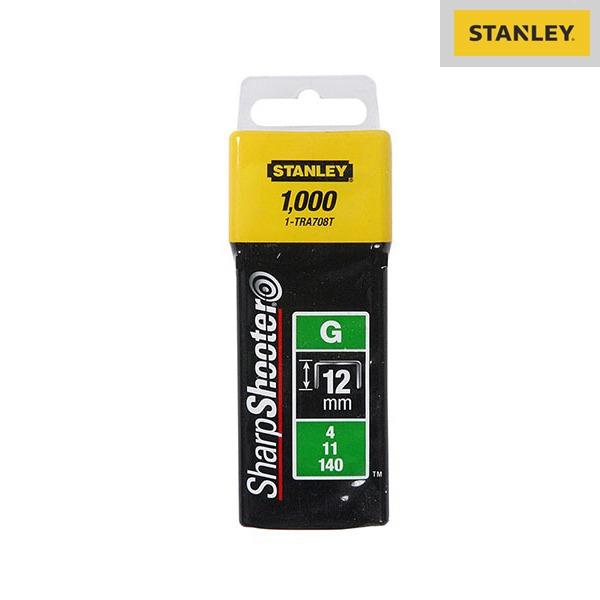Agrafes Type G - 12mm - Boite De 1000 Pièces - Stanley
