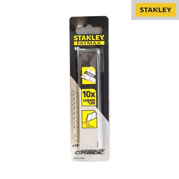 Boite De 10 Lames De Cutter - 18mm - Haute Durabilité - FATMAX® PRO - Stanley