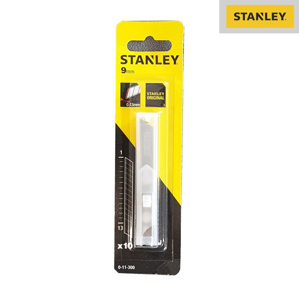 Boite De 10 Lames De Cutter - 9MM - Stanley