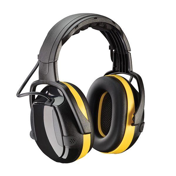 Casque anit-bruit électronique Active - Jaune