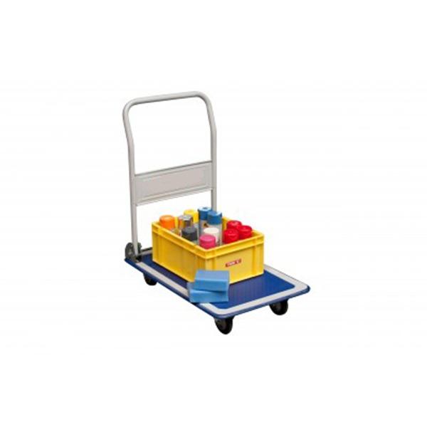 Chariot à dossier rabattable - Capacité de 150 ou 300 kg