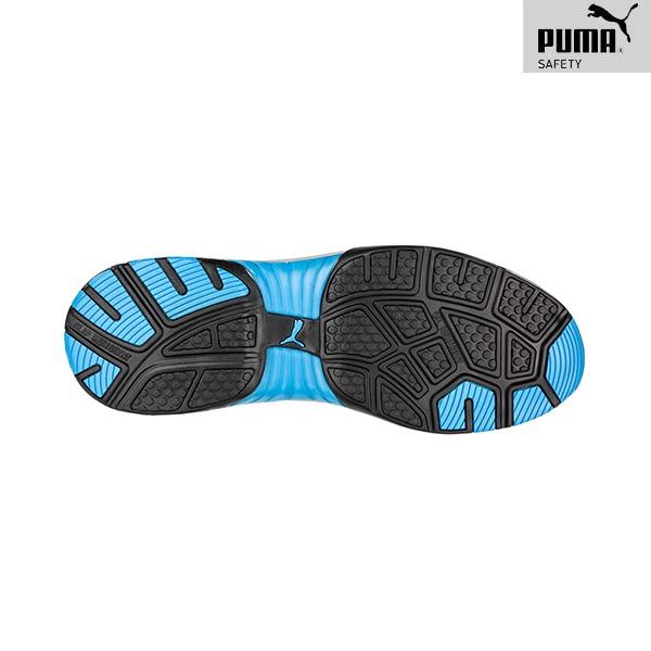 Chaussures de Sécurité Puma – CELERITY KNIT BLUE - Vue de dessous