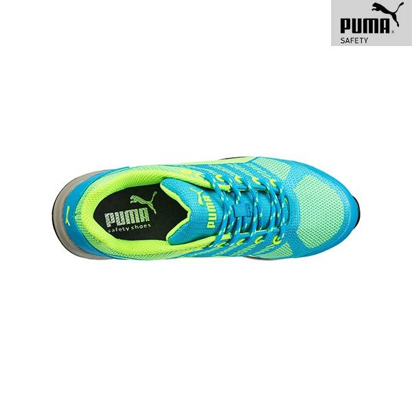 Chaussures de Sécurité Puma – CELERITY KNIT BLUE - Vue de dessus