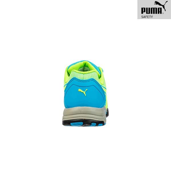 Chaussures de Sécurité Puma – CELERITY KNIT BLUE - Vue de dos
