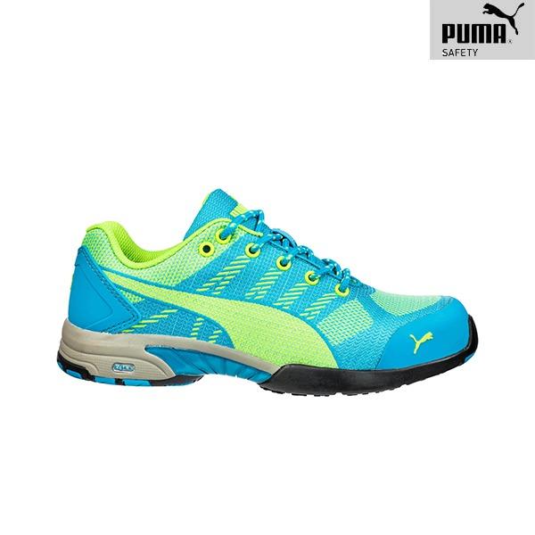 Chaussures de Sécurité Puma – CELERITY KNIT BLUE