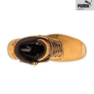 Chaussures de sécurité Puma – CONQUEST WHEAT HIGH - Vue de dessus