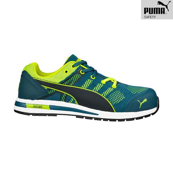 Chaussures de sécurité Puma - ELEVATE KNIT GREEN LOW