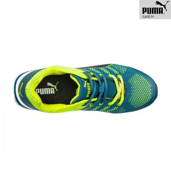 Chaussures de sécurité Puma - ELEVATE KNIT GREEN LOW - Dessus