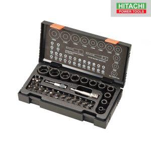 Kit De Douilles à Chocs Et Embouts 41 Pièces - Hitachi- 752500
