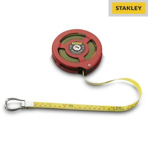 Mesure Longue Ruban Acielak Decajour - 20m - Stanley