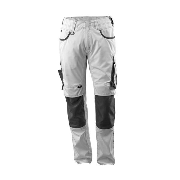 Pantalon de travail Mascot Lemberg - Blanc et Gris