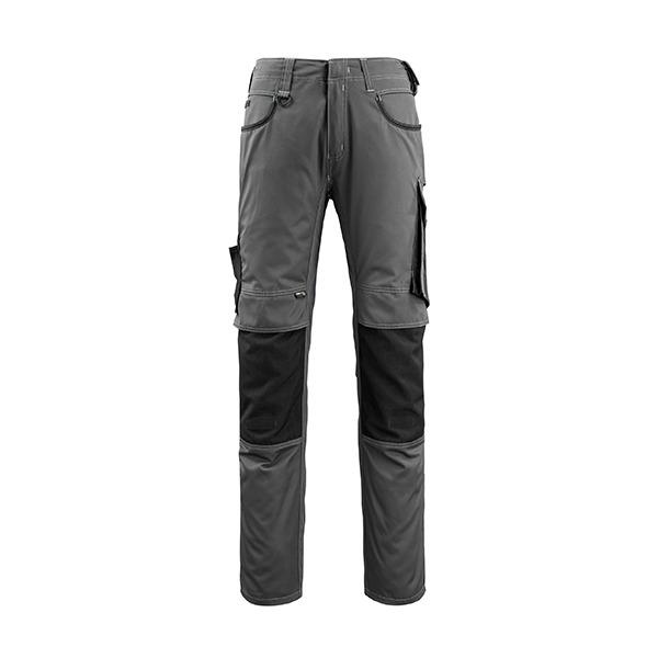 Pantalon de travail Mascot Lemberg - Gris Foncé et Noir