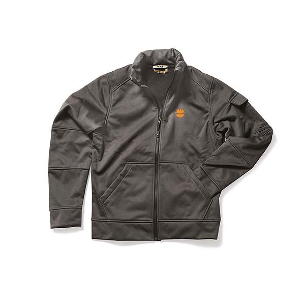 Sweat-Shirt de travail DIKE - Gamme FEAT - Couleur Fumée