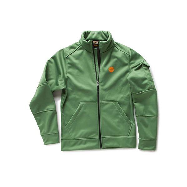 Sweat-Shirt de travail DIKE - Gamme FEAT - Couleur Vert