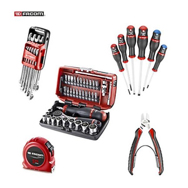Composition 1er équipement collector – 100 Ans Facom - Ouvert