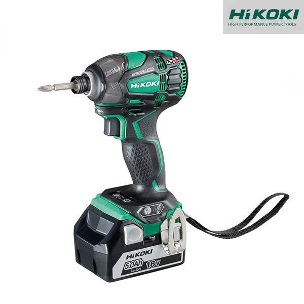 Visseuse à choc Hikoki - 18 V 5.0Ah - 207 Nm - WH18DBDL2WPZ