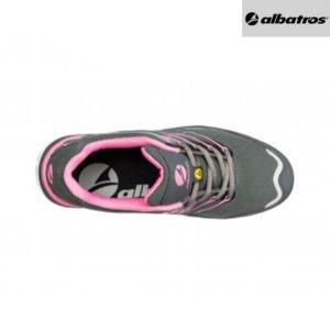 Chaussures de sécurité Albatros - TWIST PINK - Vue de dessus