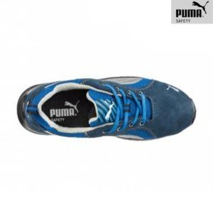 Chaussures de sécurité Puma – OMNI BLUE LOW - Vue de dessus