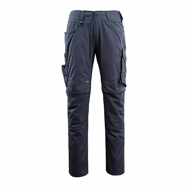 Pantalon poches genouillères lemberg marine foncé | MASCOT