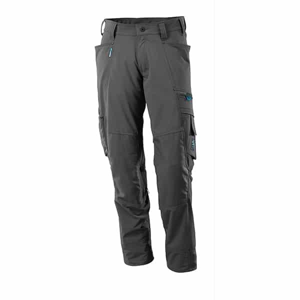 Pantalon avec poches genouillères gris foncé | Mascot Advanced