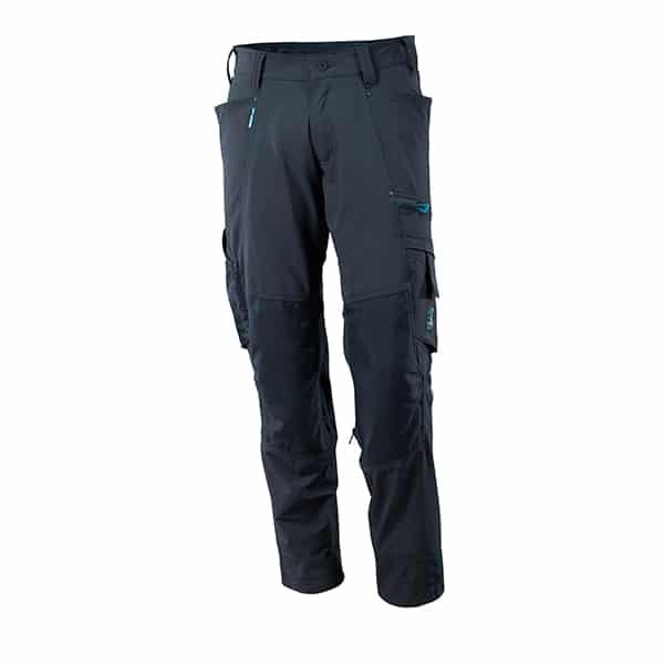 Pantalon avec poches genouillères marine foncé | Mascot Advanced