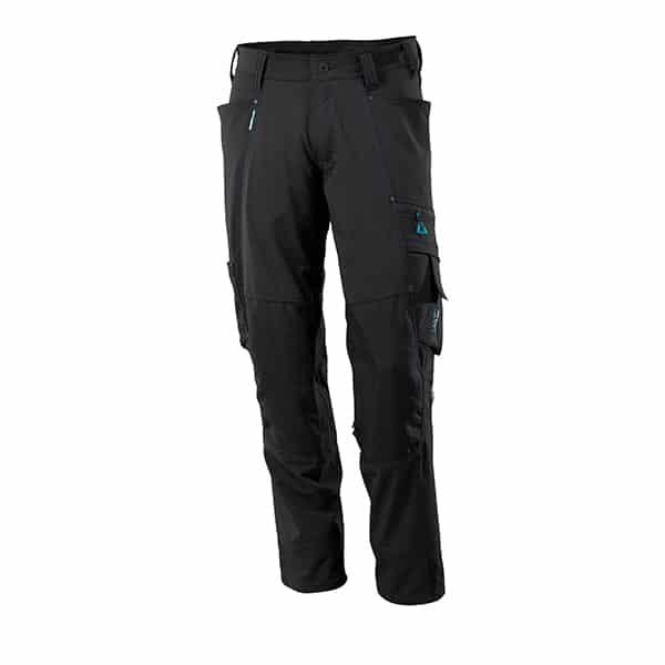 Pantalon avec poches genouillères noir | Mascot Advanced