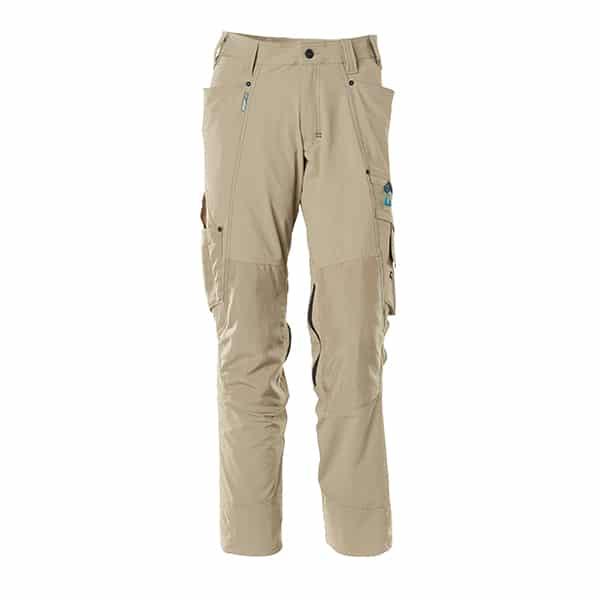 Pantalon avec poches genouillères sable clair | Mascot Advanced