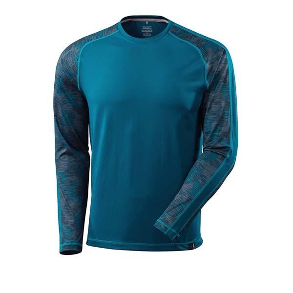 T-Shirt Mascot manche longues - ADVANCED bleu pétrole foncé