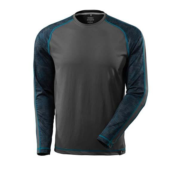 T-Shirt Mascot manche longues - ADVANCED gris foncé