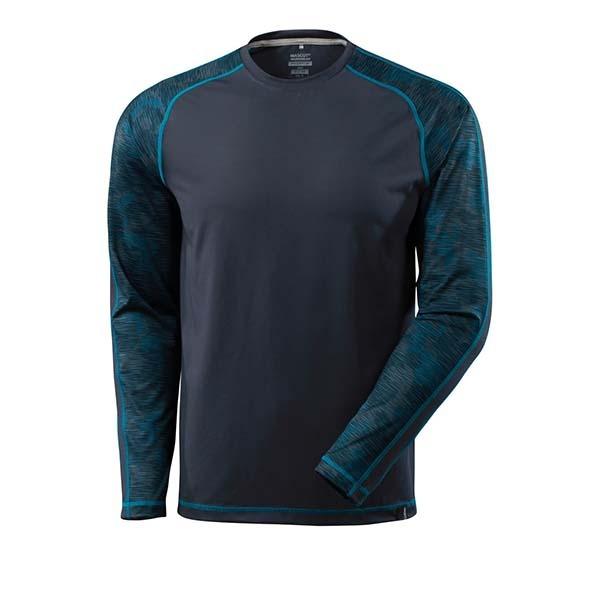 T-Shirt Mascot manche longues - ADVANCED marine foncé