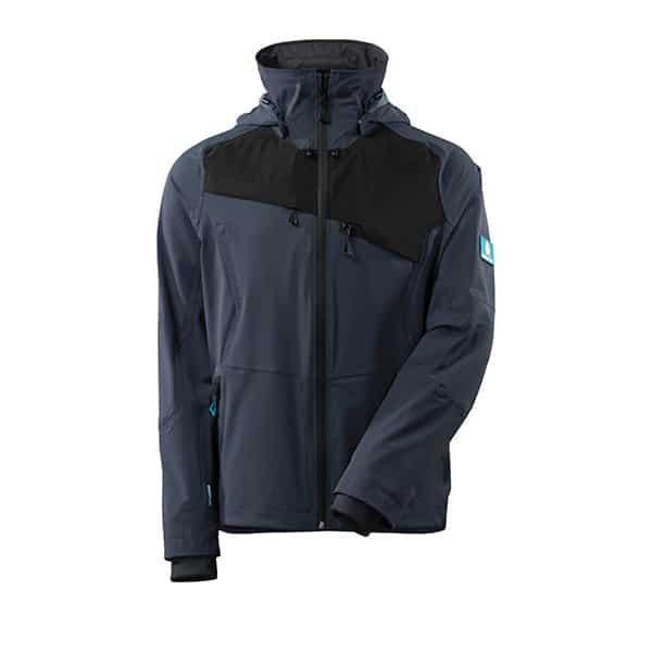 Veste d'extérieur bleue foncé et noire | MASCOT Advanced