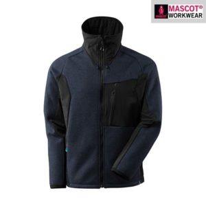 Veste Tricot Zippé - Mascot ADVANCED bleu marine et noir