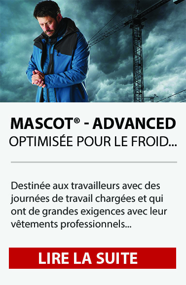 Vêtements pour le froid : découvrez la gamme MASCOT® ADVANCED