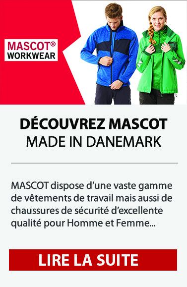 Découvrez les vêtements de travail MASCOT - Made in Danemark