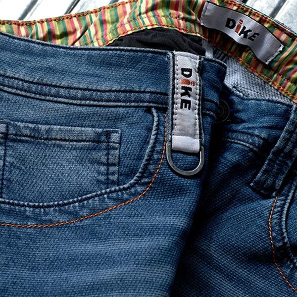 Pantalon de travail Denim bleu foncé - DIKE - Détails