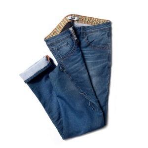 Pantalon de travail Denim bleu foncé - DIKE