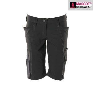 Short MASCOT® ACCELERATE - Stretch - PEARL - Femme