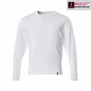 "Sweat-shirt ""Crossover"" Blanc - Mascot"