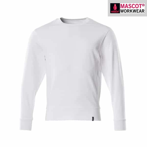 "Sweat-shirt ""Crossover"" Blanc - Mascot"