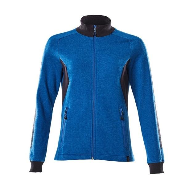 Sweatshirt zippé Mascot coupe femme - ACCELERATE bleu