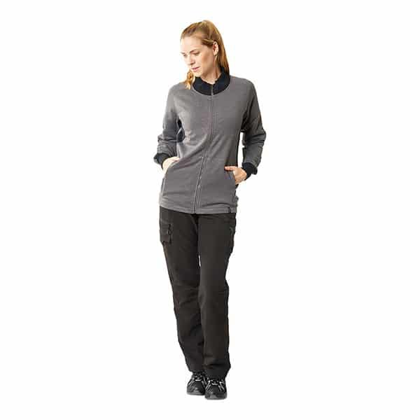Sweatshirt zippé Mascot coupe femme - ACCELERATE modèle