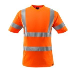 T-Shirt avec bandes réfléchissantes - MASCOT Safe Classic orange