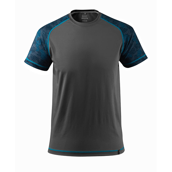 T-shirt coupe moderne - MASCOT Advanced gris foncé